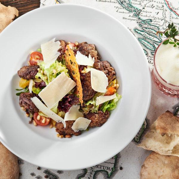 салат македонський