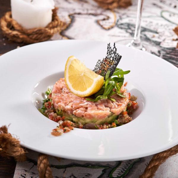 Тар-тар з лосося